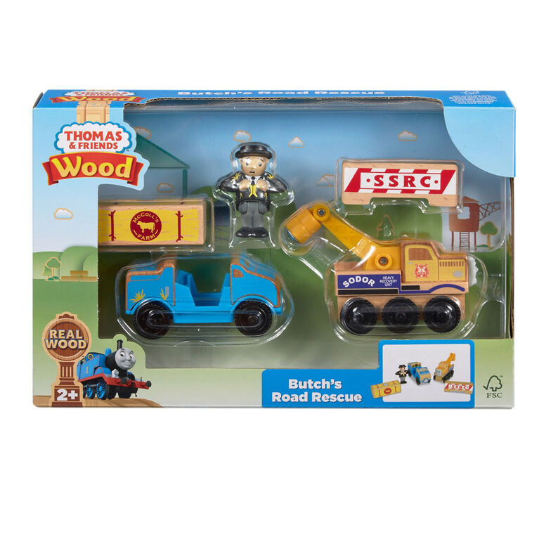 Fisher-Price Thomas & Friends Wood Butch's Road Rescue.