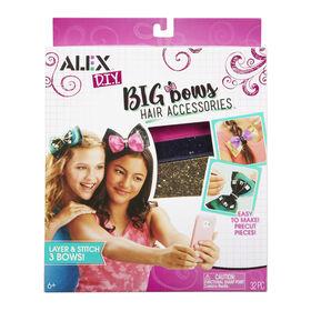 DIY - Big Bows Hair Accessories