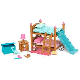 Ensemble De Lits Superposés, Li'l Woodzeez, Ensemble de meubles avec lit superposé