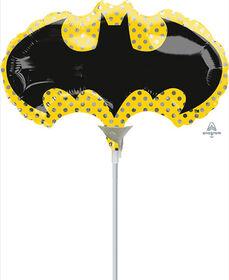 Ballon Mini Rempli D'Air Batman