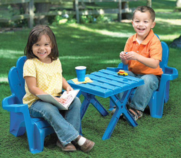 American Adirondack Table and Chair Set