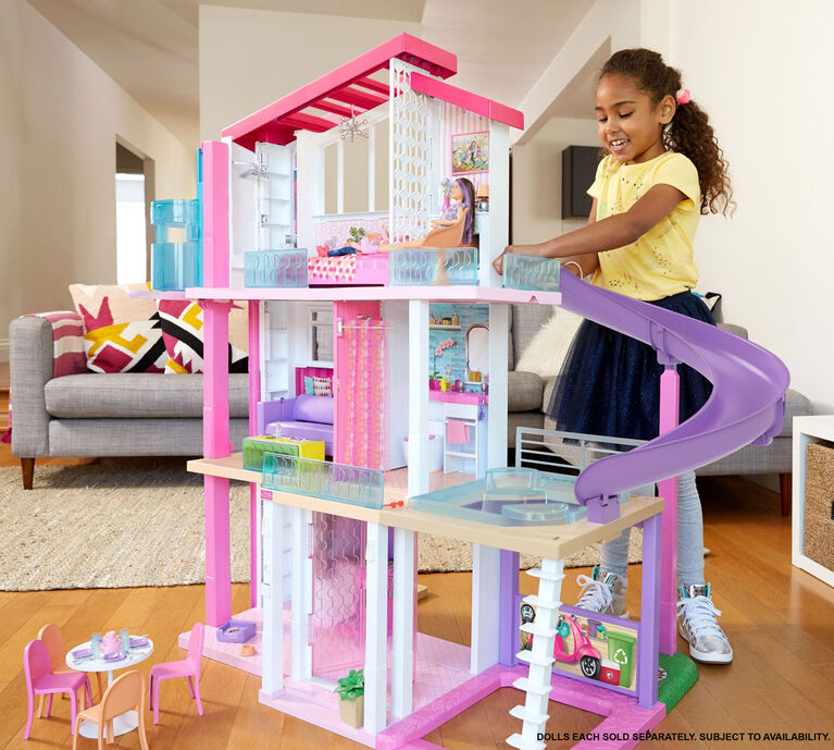 Barbie Dreamhouse Dollhouse with Pool, Slide and Wheelchair Accessible Elevator