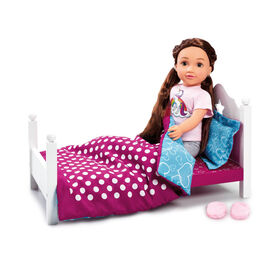 B Friends Sweet Dreams Wooden Bed - R Exclusive