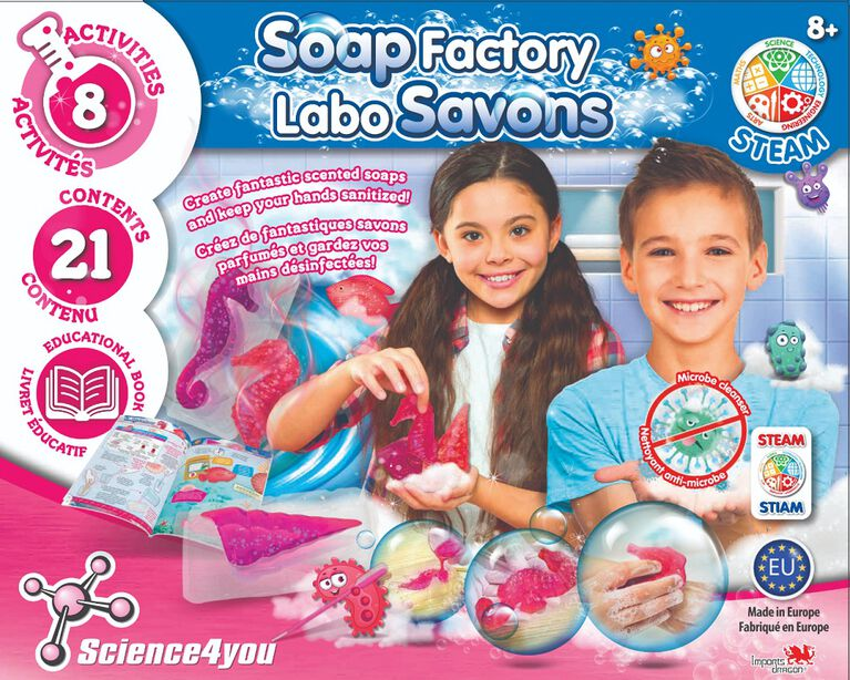 Science4You - Labo Savons