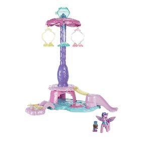 Fisher-Price - Nickelodeon Shimmer and Shine Teenie Genies ZahracornPlayParkPlayset - English Edition