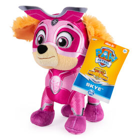 PAW Patrol, 8-Inch Mighty Pups Super PAWs Skye Plush