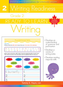 Grade 2 - Ready To Learn Writing - Édition anglaise