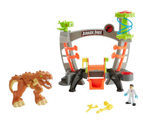 Fisher-Price - Imaginext - Jurassic World - Laboratoire de recherche - Édition anglaise