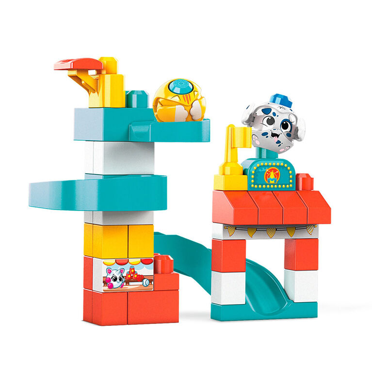 Mega Bloks Peek A Blocks Amusement Park