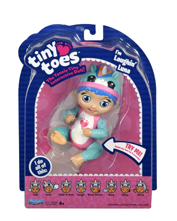 Tiny Toes Doll Laughing Luna