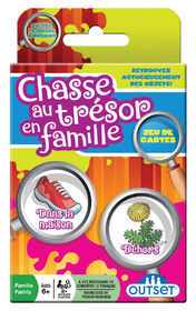 Family Scavenger Hunt Card Game - French Edition