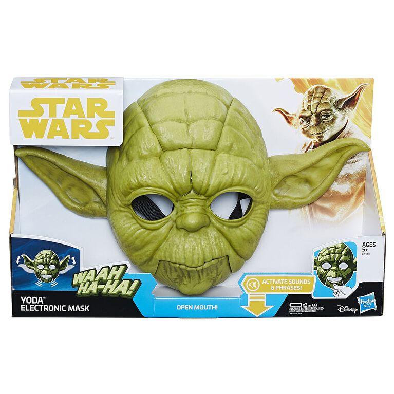 Star Wars The Empire Strikes Back Yoda Electronic Mask - English Edition