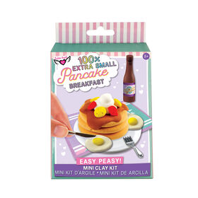 Fashion Angels - 100% Extra Small Pancake Breakfast Mini Clay Kit