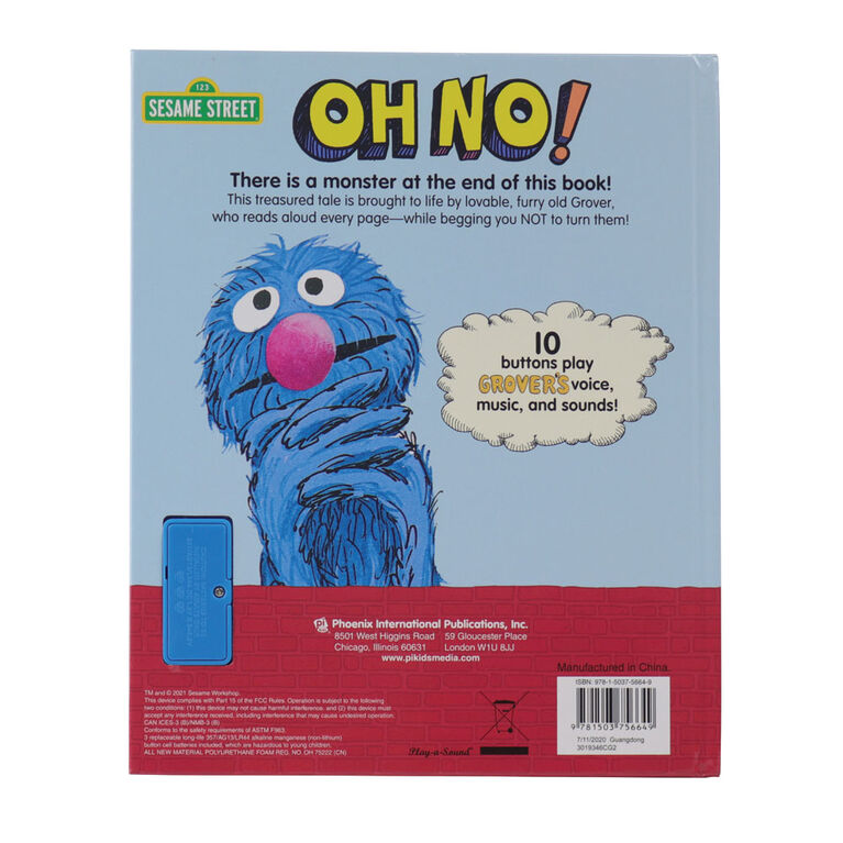 Sesame Street The Monster At The End Of This Sound Book With Grover - English Edition