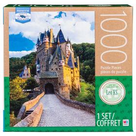Artiste : Leo KS - Puzzle de 1000 pièces - Château d''''Eltz.