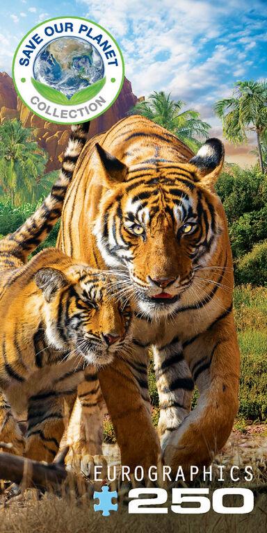 Tigers 250 Piece Puzzle