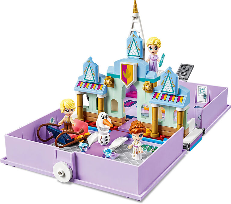 LEGO Disney Princess Anna and Elsa's Storybook Adventures 43175