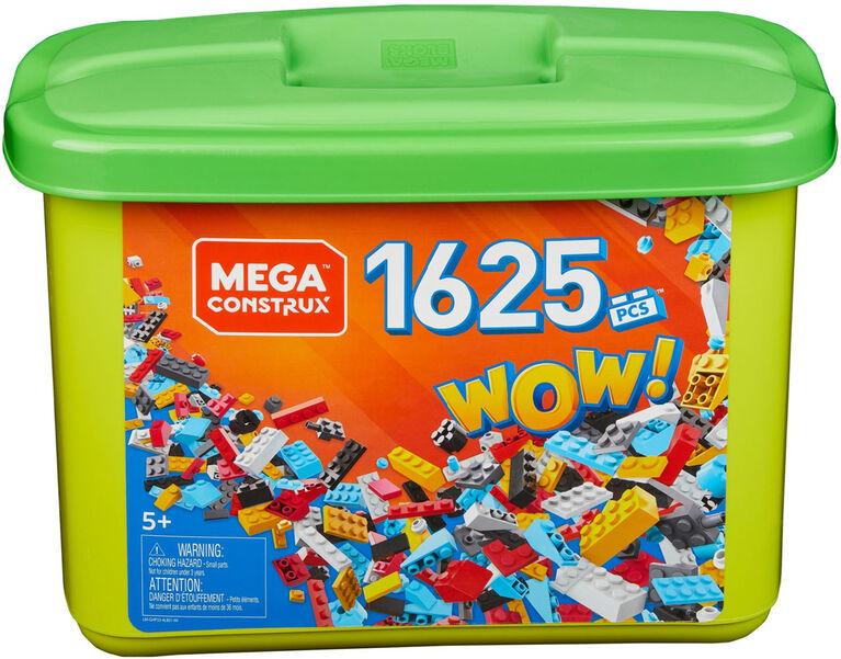 Mega Construx - Bac de 1 625 pièces