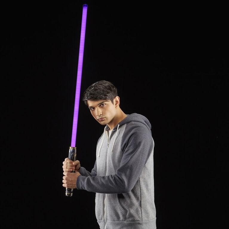 Star Wars The Black Series Mace Windu Ep3 Force FX Lightsaber