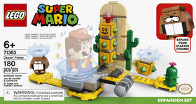 LEGO Super Mario Ensemble d'extension Désert de Pokey 71363