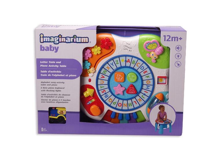 Imaginarium Baby - Table d'activités Train de l'alphabet et piano
