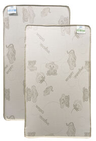 Simmons Beautyrest 2 Stage Firm Crib Mattress with Organic Cotton Cover
