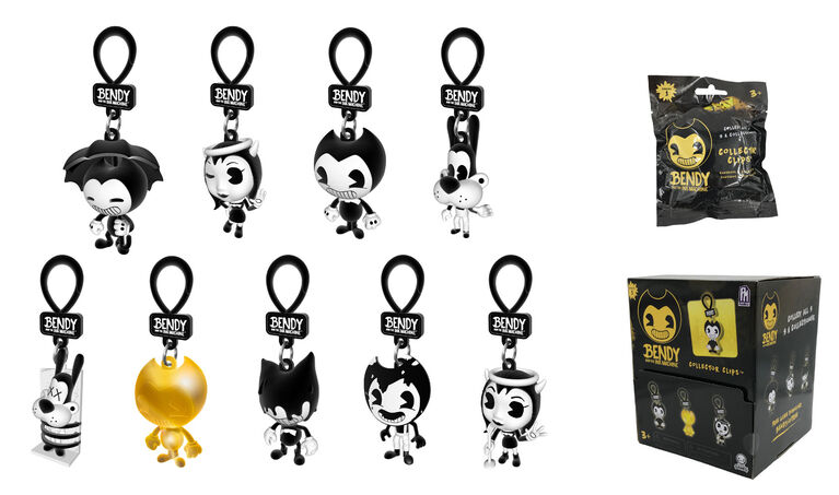 Bendy and the Ink Machine Blind Bag Collector Clips