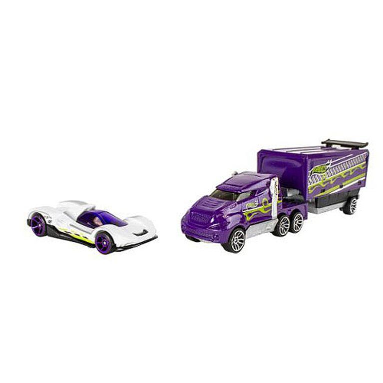 Hot Wheels - Trackin' Trucks Vehicle - Hiway Hauler