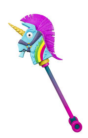 Fortnite - Réplique de la pioche Rainbow Smash Pickaxe.