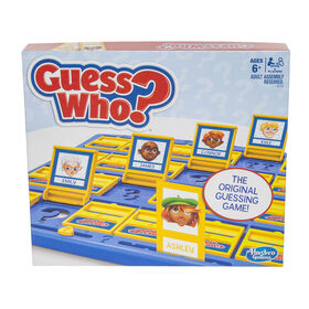 Hasbro Gaming - Jeu GUESS WHO? - les motifs peuvent varier