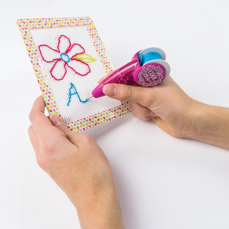 Cool Maker, Handcrafted Stitch N'''' Style Diary Activity Kit, Makes 2 Covers