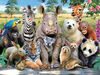 Howard Robinson Exotic Wildlife 100 pc 3D Puzzle