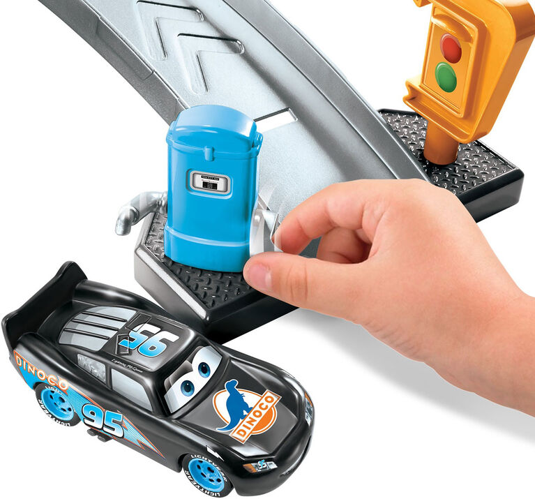 Disney Pixar - Les Bagnoles - Color Changers - Coffret de jeu Lave-auto Dinoco