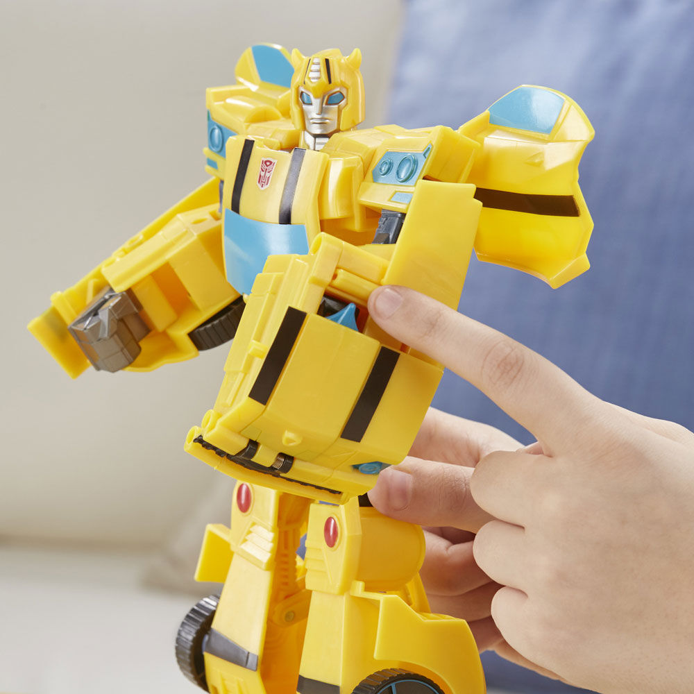 Ultimate Class BUMBLEBEE Action Figur Transformers cyberverse Action attaquants
