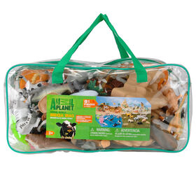 Animal Planet - Animal World Mega Bag Playset - R Exclusive