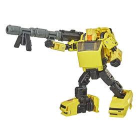 Transformers Generations Selects, WFC-GS13 Hubcap, figurine War for Cybertron, classe Deluxe, figurine de collection, 14 cm - Notre exclusivité