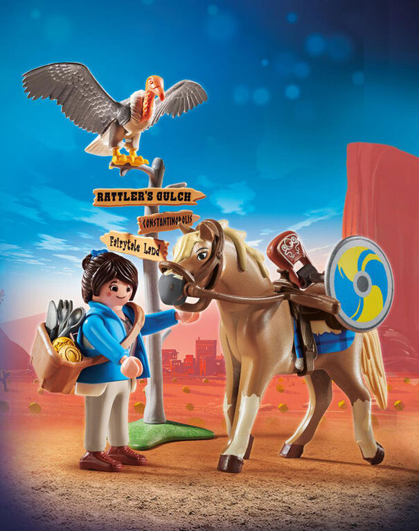 Playmobil - Marla with Horse