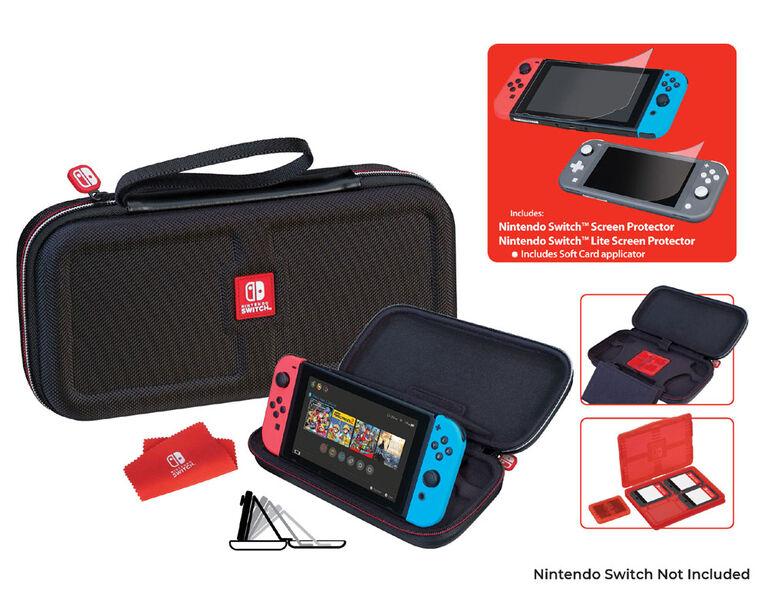 Nintendo Switch Game Traveler Case Bundle Black