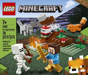 LEGO Minecraft Aventures dans la taïga 21162