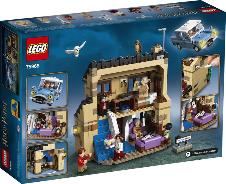 LEGO Harry Potter 4 Privet Drive 75968 - English Edition