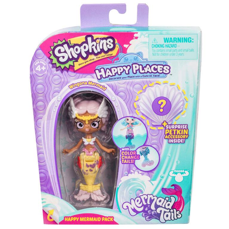 Shopkins Happy Places - Happy Mermaid Pack - Wingona Mermaid