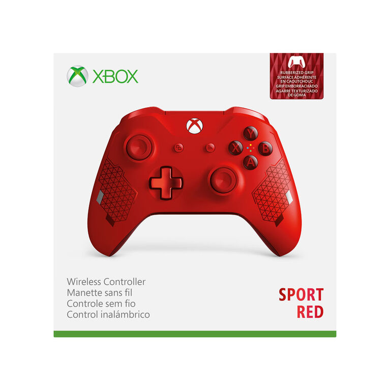 Xbox One Wireless Controller - Bluetooth - Red Sport