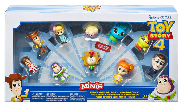 Disney Pixar Toy Story Minis Ultimate New Friends 10-Pack
