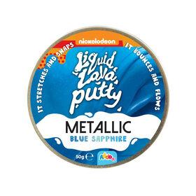 Nickelodeon Liquid Lava Putty Metallic Blue Sapphire