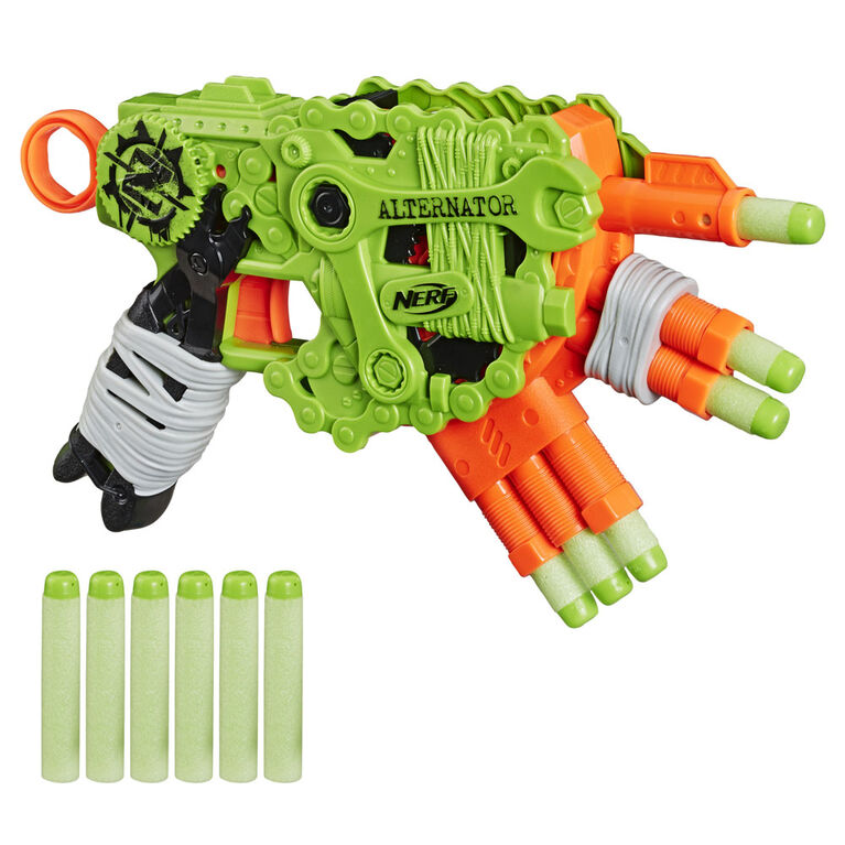 Nerf Zombie Strike Alternator Blaster