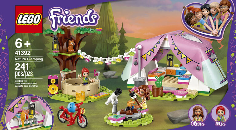 LEGO Friends Le camping glamour dans la nature 41392