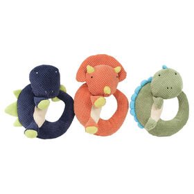 Animal Adventure Little Dinos Soft Rattles - Sold Separately Colours Vary