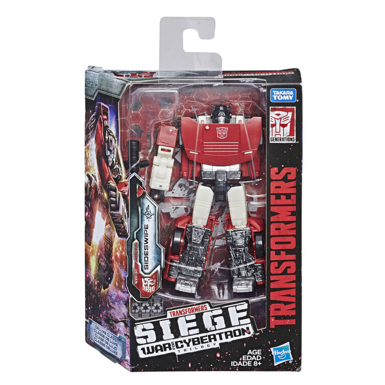 Transformers Generations War for Cybertron: Siege Deluxe Class Sideswipe Action Figure