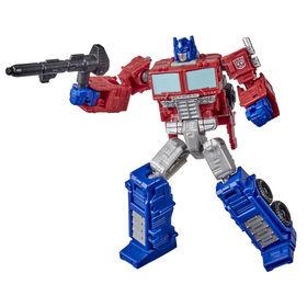 Transformers Toys Generations War for Cybertron: Kingdom Core Class WFC-K1 Optimus Prime