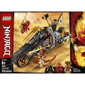 LEGO Ninjago La moto tout-terrain de Cole 70672